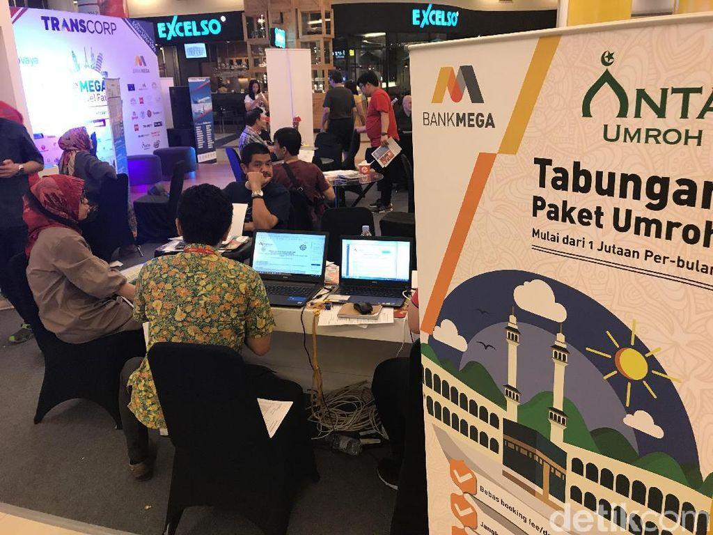 Paket Umroh di Mega Travel Fair Jadi Favorit Warga Makassar