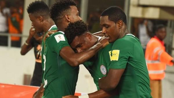 Nigeria Wakil Afrika Pertama yang Lolos ke Putaran Final