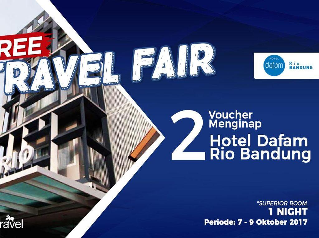 #FreeTravelFair : Gratis Tidur di Hotel Dafam Rio Bandung
