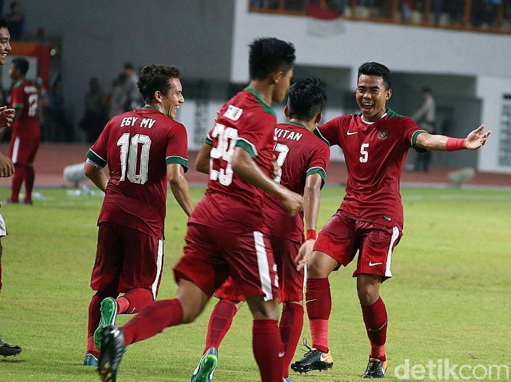 Foto: Timnas Muda Permalukan Thailand 3-0
