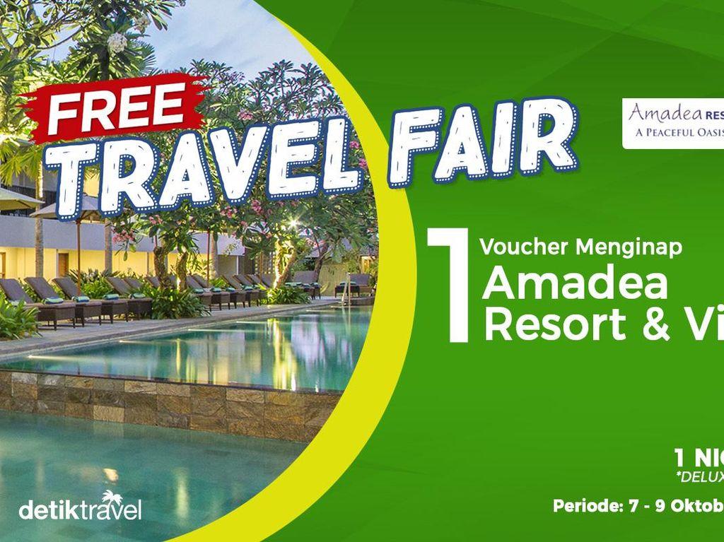 #FreeTravelFair : Voucher Bermalam di Amadea Resort & Villas