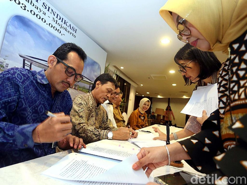 Kredit Sindikasi Tol Surabaya-Mojokerto