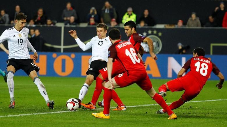 Bekuk Azerbaijan 5-1, Jerman Sempurna di Kualifikasi