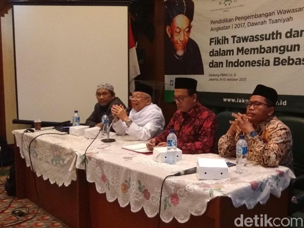 Maruf Amin soal Tantangan Terbesar RI: Radikalisme dan Kesenjangan