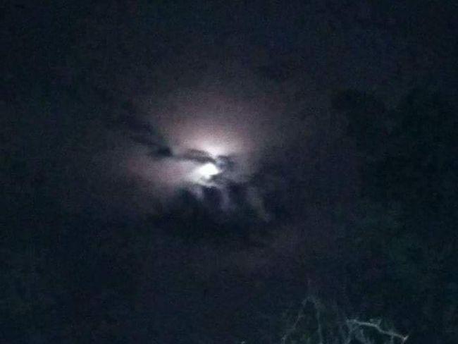 Heboh Fenomena Langit Malam Bertulis Lafaz Allah di Purwakarta