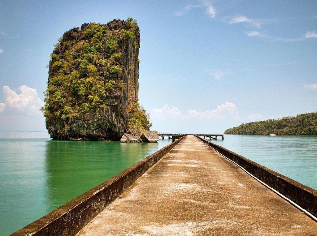 Foto: Pulau Indah Tempat Pembuangan Ribuan Narapidana