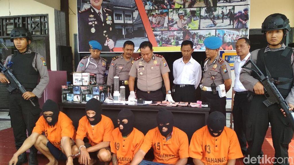Komplotan Sales Elektronik Pelaku Gendam Berhasil Ditangkap