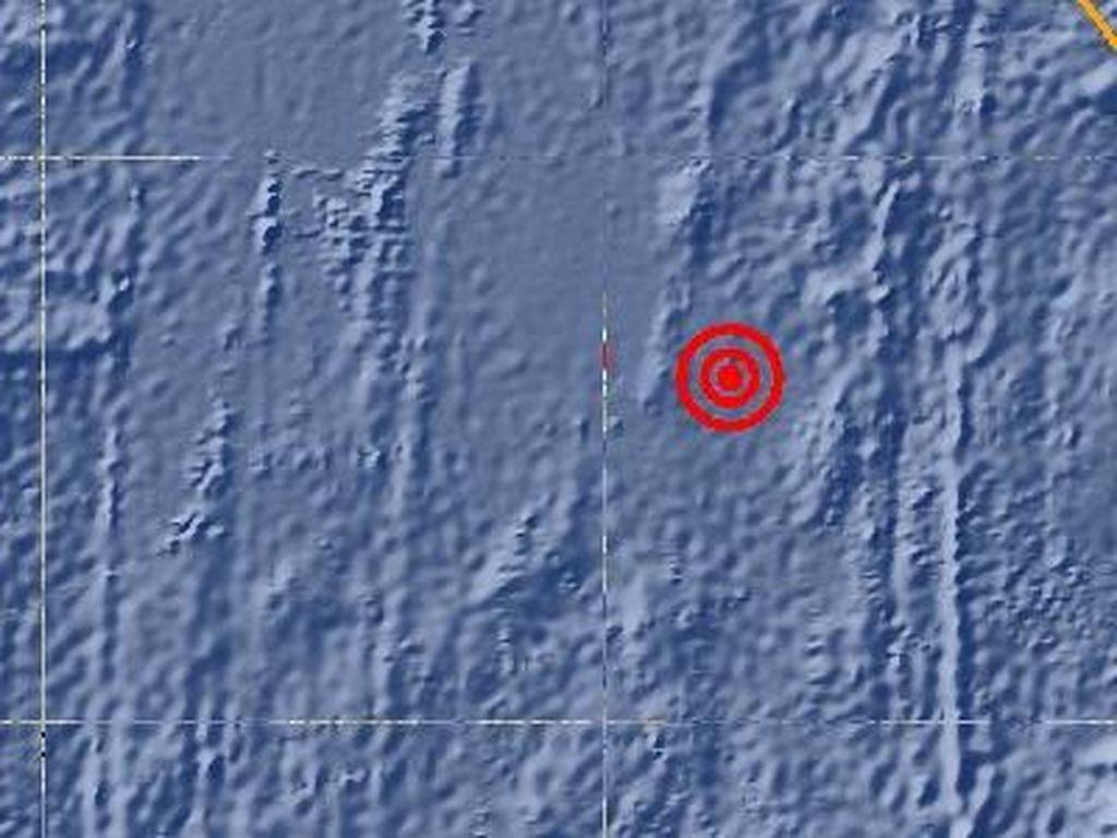 Gempa 6,0 SR Guncang Kepulauan Mentawai