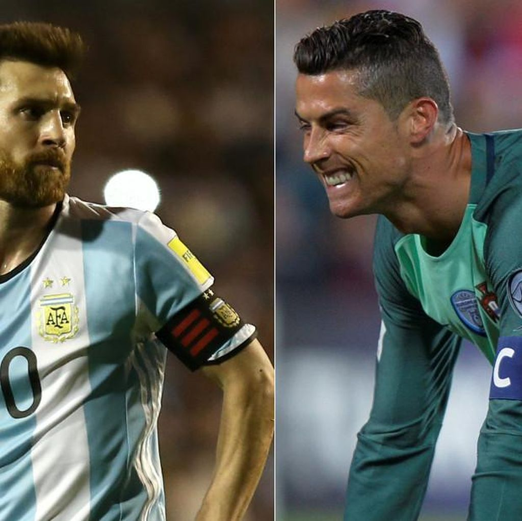 Perbedaan Mencolok antara Messi dan Ronaldo di Mata Tevez