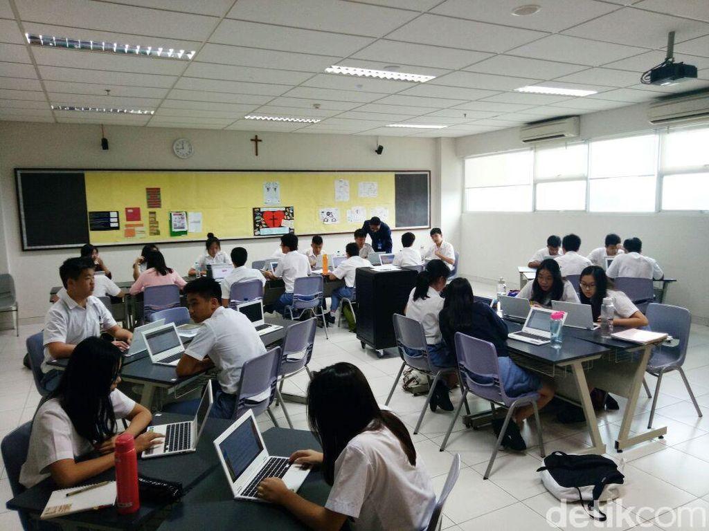 Sekolah Ini Punya Ruang Kelas Google