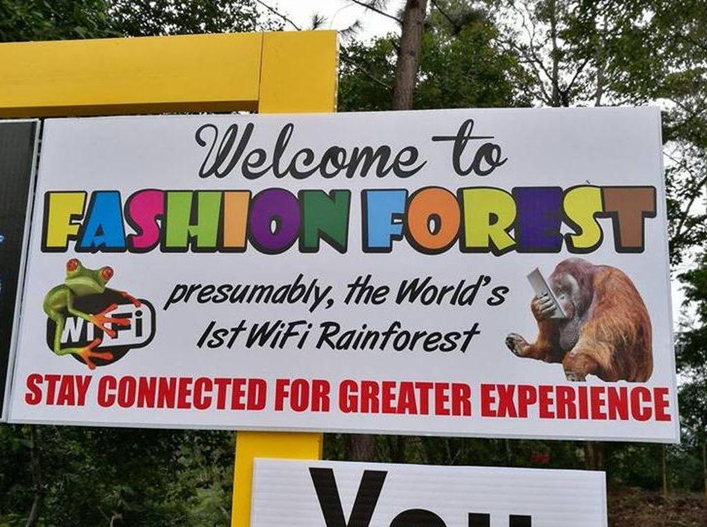 Foto: Hutan di Malaysia yang Punya WiFi
