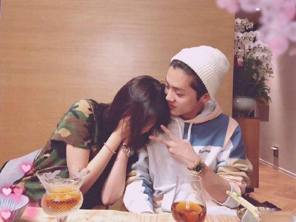 Fans Dibikin Baper dengan Foto Mesra Luhan dan Guan Xiao Tong