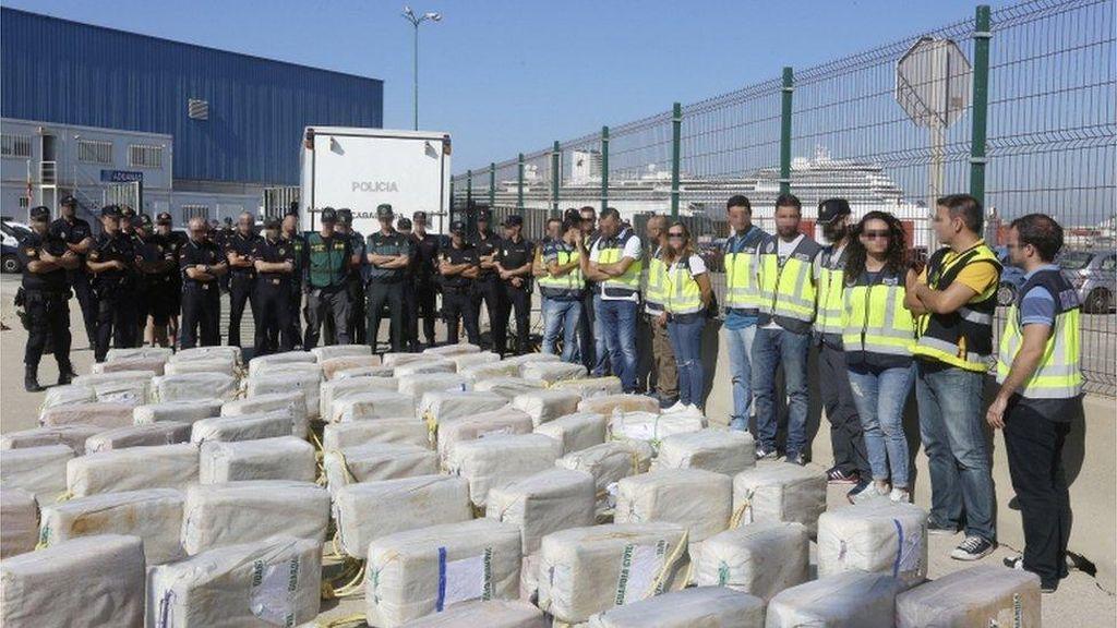 Kokain Senilai Rp 3,5 Triliun Disita dari Kapal di Samudera Atlantik