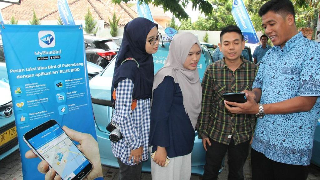 MY Blue Bird Hadir di Kota Palembang