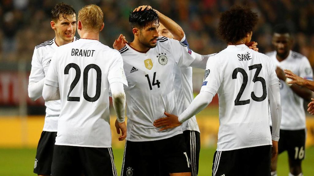 Jerman Sempurna ke Piala Dunia