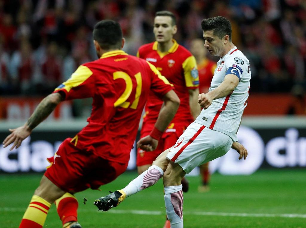 Polandia ke Piala Dunia 2018, Denmark Masuk Play-off