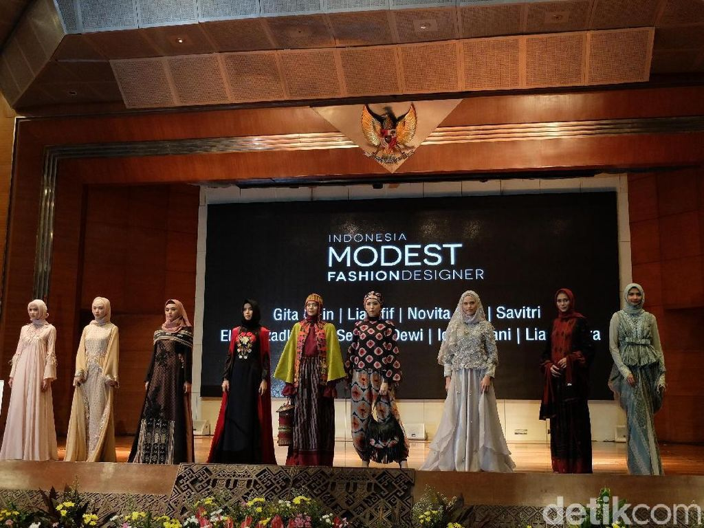 Desainer Korea Hingga Australia Ramaikan Indonesia Modest Fashion Week 2017