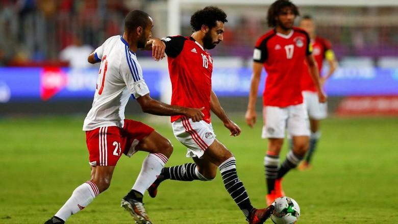 Dua Gol Salah Loloskan Mesir ke Piala Dunia