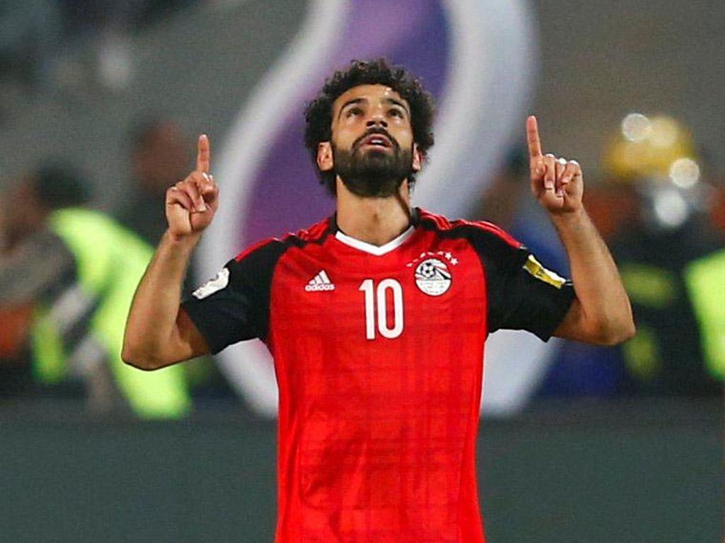 Mesir Lolos ke Piala Dunia 2018