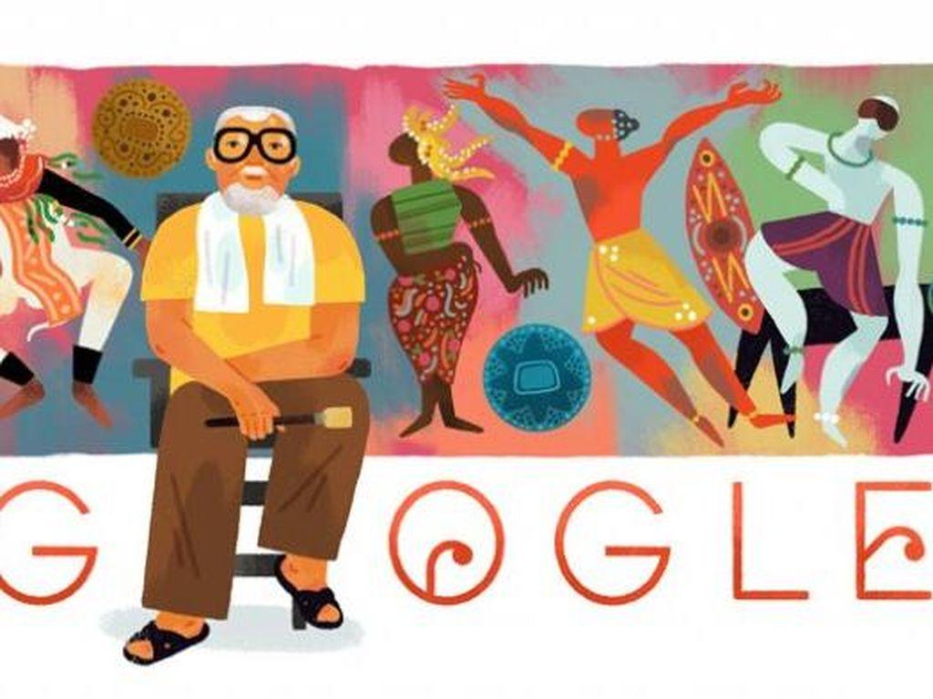 Bagong Kussudiardja Jadi Tokoh Google Doodle Hari Ini