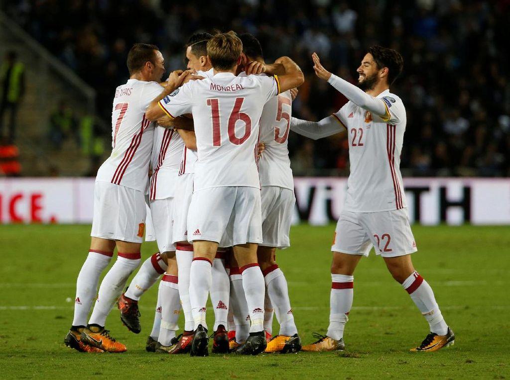 Penampilan Spanyol di Kualifikasi Puaskan Lopetegui