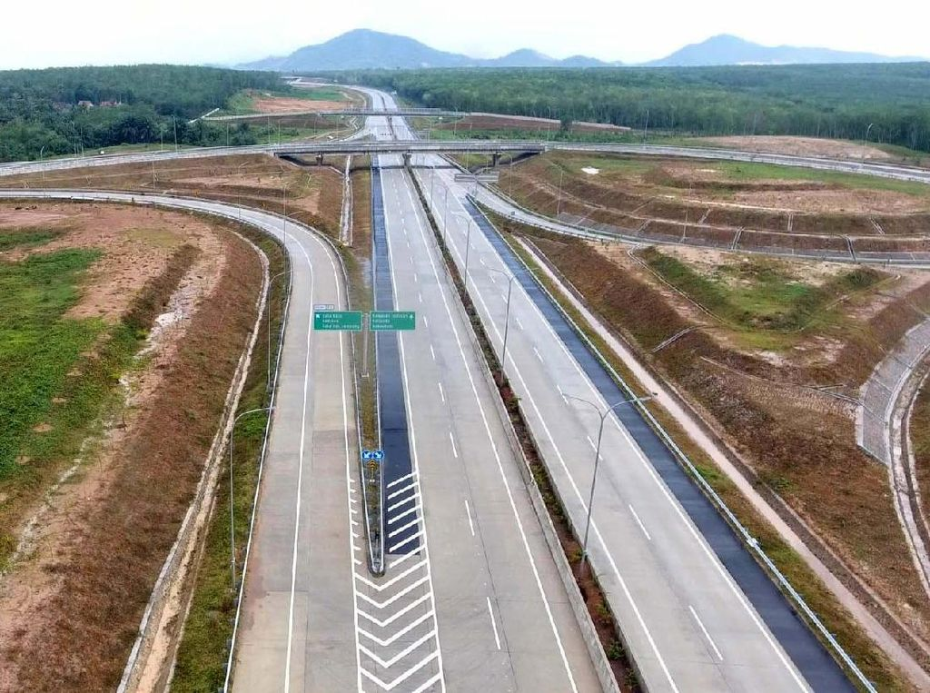 Target Pembangunan Tol Dalam 5 Tahun Naik, Jalan Baru Turun