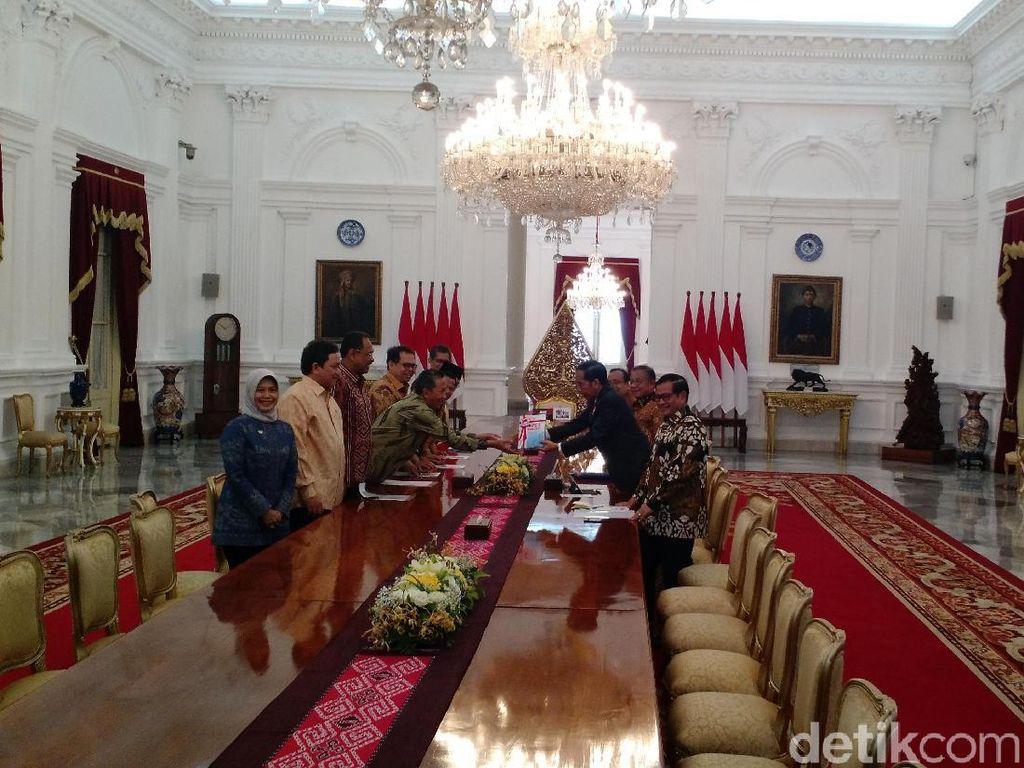 Lapor ke Jokowi, BPK Sebut Telah Selamatkan Duit Negara Rp 13,7 T