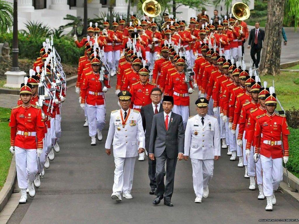 Jokowi Ungkap Suasana Kirab Saat Pelantikan Sri Sultan-Pakualam
