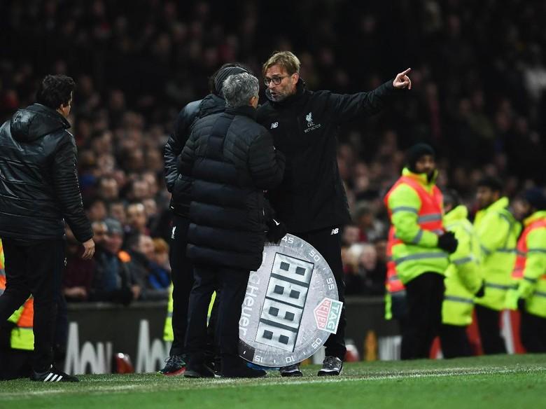 Rekor Klopp vs Mourinho: 3 Menang, 3 Imbang, 1 Kalah
