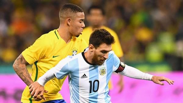 Gabriel Jesus: Argentina Kesulitan karena Kesalahannya Sendiri