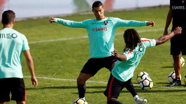 Ada Ronaldo, Portugal Pede Kalahkan Swiss