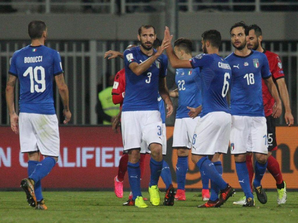Kemenangan atas Albania Jadi Pembuktian Italia