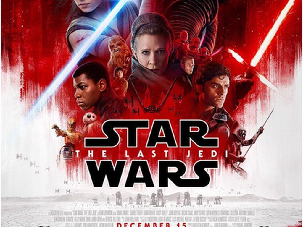 Raih US$ 1 Miliar, Star Wars: The Last Jedi Kokoh di Puncak Box Office