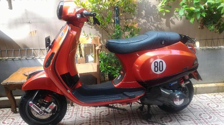 Vespa LX 150 Juicy Orange