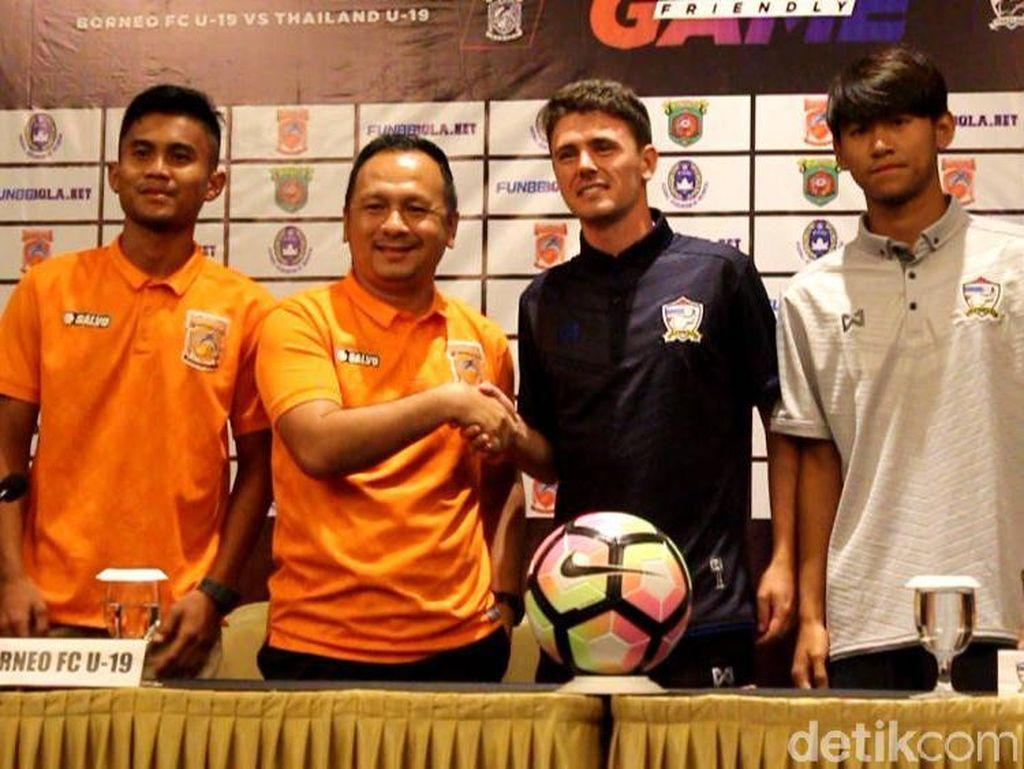 Lawan Timnas Thailand U-19 Jadi Ajang Borneo FC U-19 Cari Pengalaman