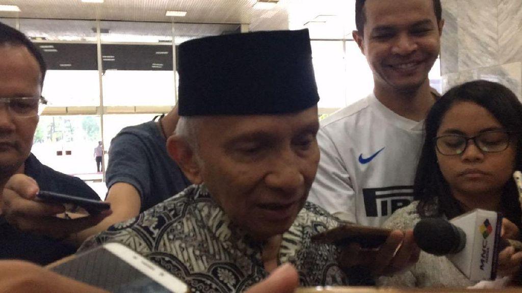 Amien Rais Minta PAN Tak Dukung Jokowi, Golkar: Kita Hargai