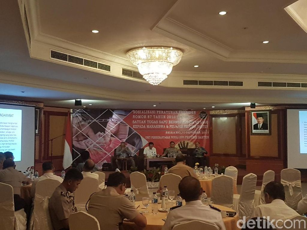 Satgas OTT 27 Kasus di Banten dalam Setahun, 67 Tersangka Ditangkap