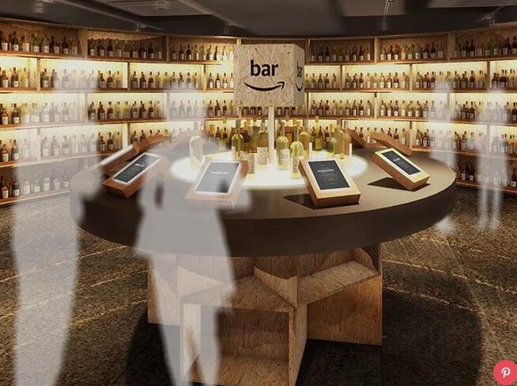 Amazon Hadirkan Pop-up Bar Unik dengan Virtual Bartender