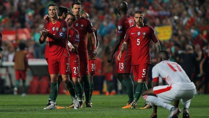Timnas Portugal bakal berusaha melaju sejauh mungkin di Piala Dunia 2018 (Jon Nazca/Reuters)