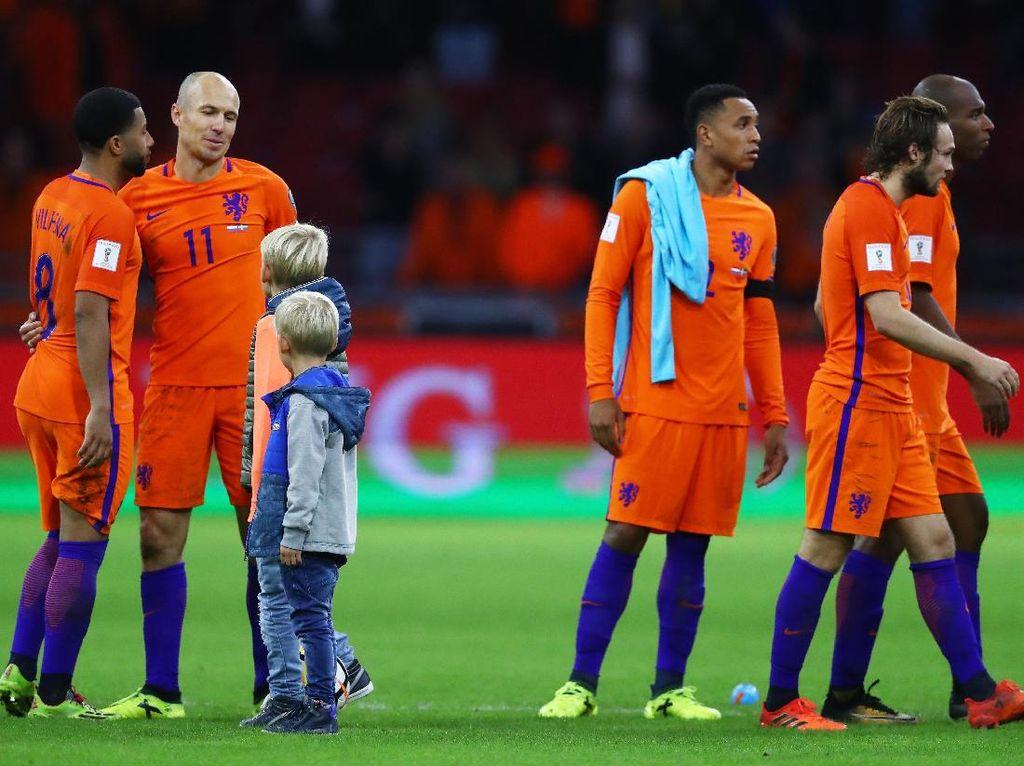 Belanda Cuma Jadi Penonton di Piala Dunia