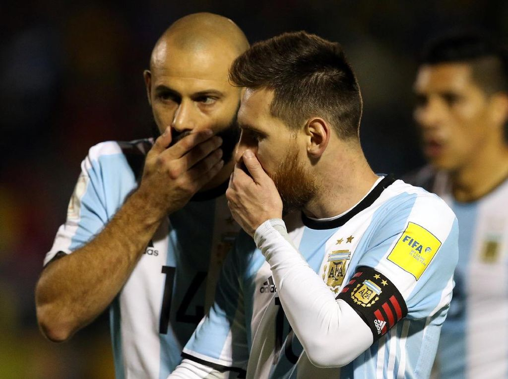 Sebelum Bikin Hat-trick, Messi Sempat Waswas Argentina Tak Lolos
