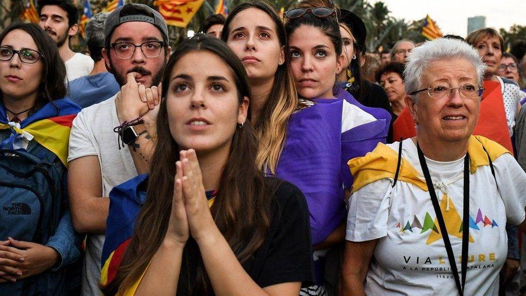 Pemerintah Spanyol Mencemooh Deklarasi Kemerdekaan Catalunya