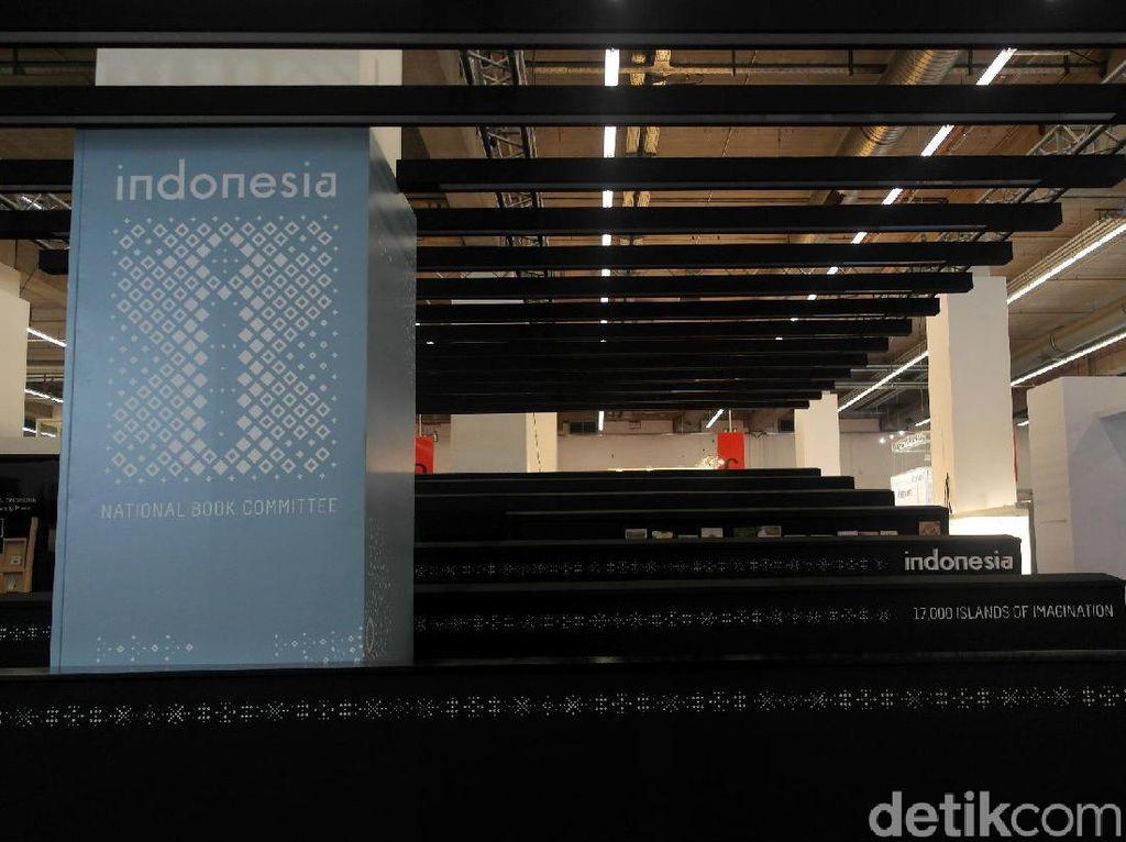 Stan Indonesia Berbentuk Terasering, Yuk Intip Stan Negara Lain