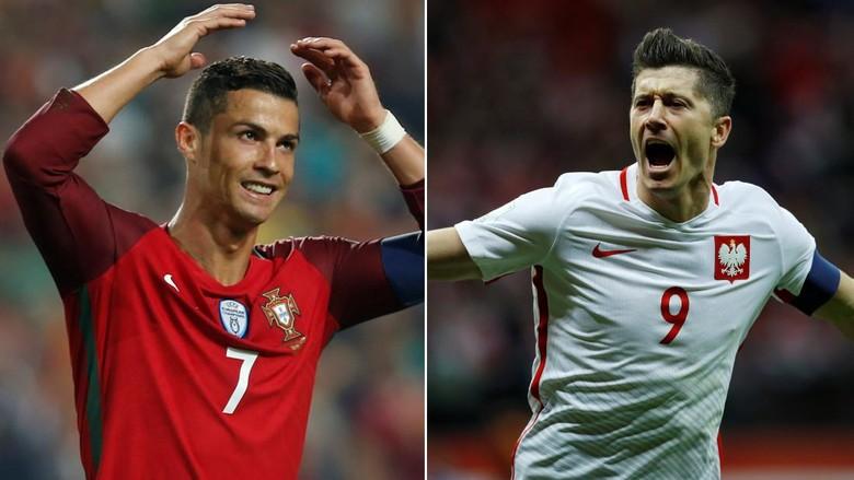 Akhir Balapan Ronaldo vs Lewandowski