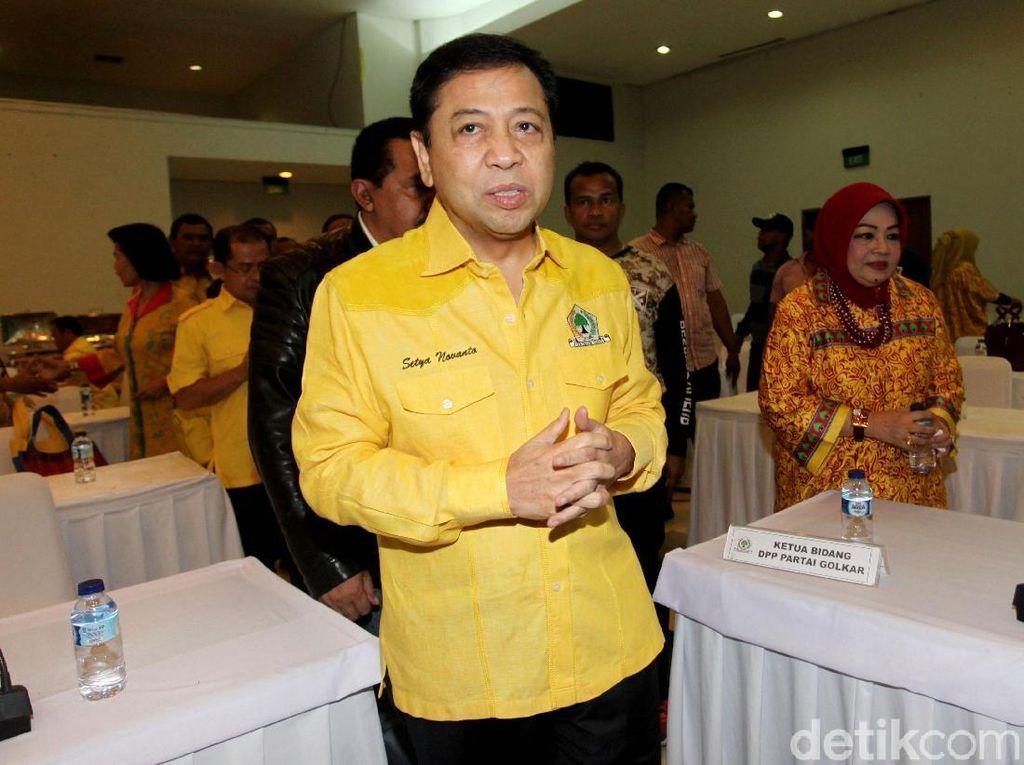 Novanto Disebut Ingin Pimpin Munaslub Bila Menang Praperadilan