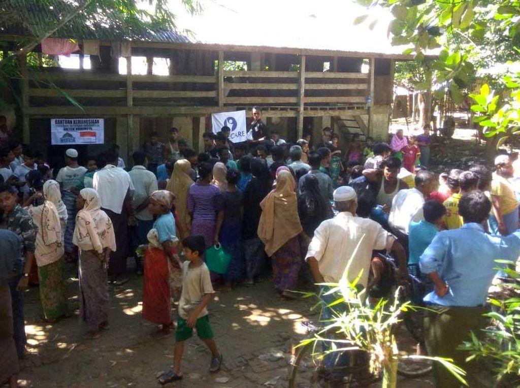 Perjuangan Relawan Berikan Bantuan Tembus Perbatasan Myanmar