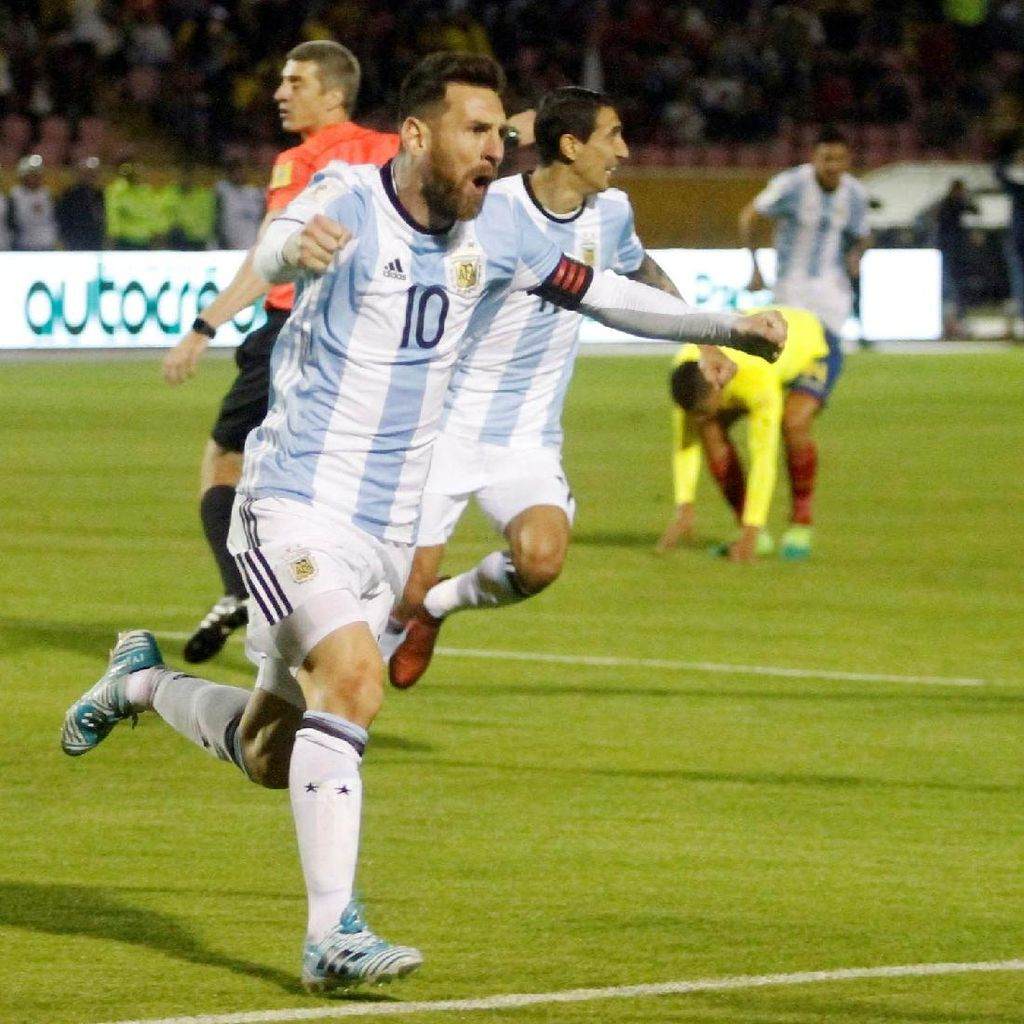 Pujian Simeone untuk Messi yang Loloskan Argentina ke Piala Dunia