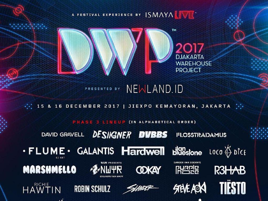 Ini Lineup yang Siap Guncang DWP 2017 Hari Pertama!
