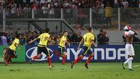 Imbang Lawan Peru, Kolombia Amankan Tiket ke Rusia