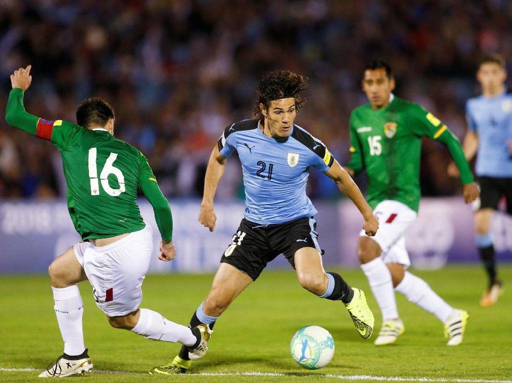 Tekuk Bolivia, Uruguay Melangkah ke Piala Dunia